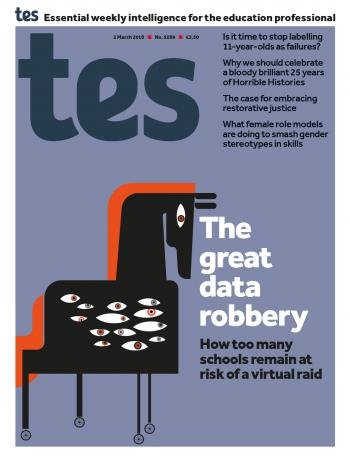 Tes - 2 March 2018 cover image