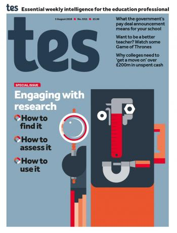 Tes - 03 August 2018 cover image