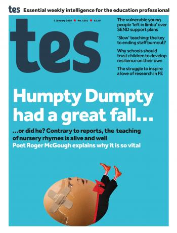 Tes - 5 January 2018 cover image