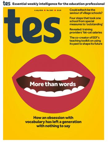Tes - 06 July 2018 cover image