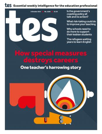 Tes - 6 October 2017 cover image