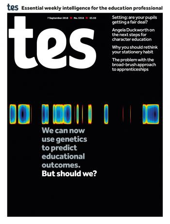 Tes - 7 September 2018 cover image