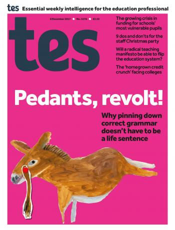 Tes - 8 December 2017 cover image