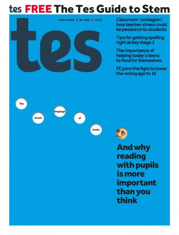 Tes - 9 March 2018 cover image