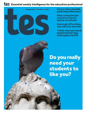Tes - 10 August 2018 cover image