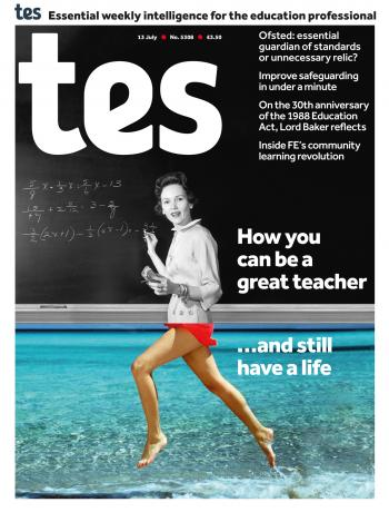 Tes - 13 July 2018 cover image