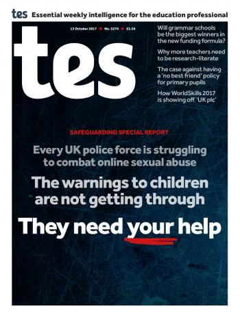 Tes - 13 October 2017 cover image