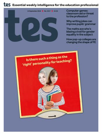 Tes - 14 September 2018 cover image
