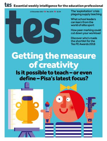 Tes - 15 December 2017 cover image