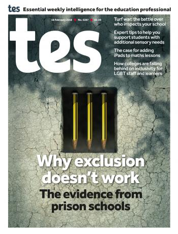 Tes - 16 February 2018 cover image