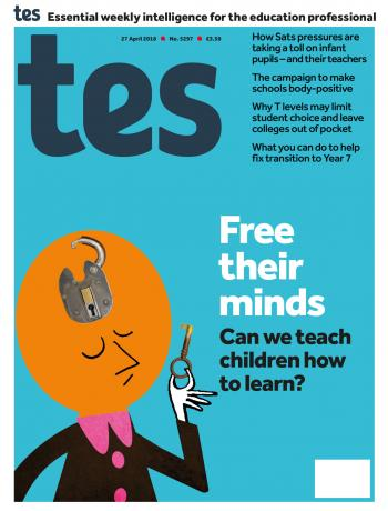 Tes - 27 April 2018 cover image