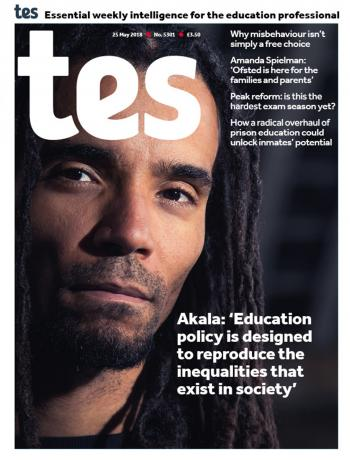 TES - 25 May 2018 cover image