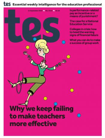 Tes - 21 September 2018 cover image