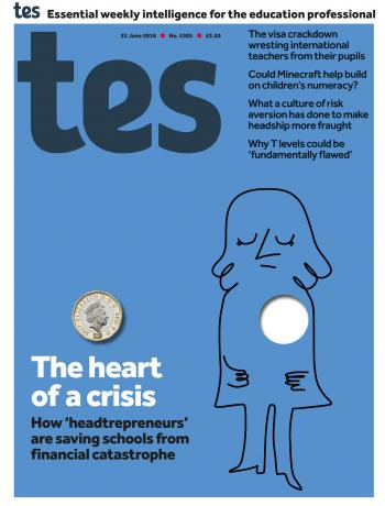 Tes - 22 June 2018 cover image