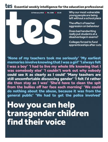 Tes - 23 February 2018 cover image