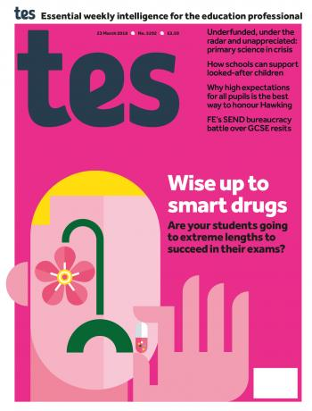 Tes - 23 March 2018 cover image