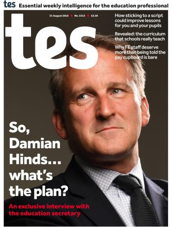 Tes - 31 August 2018 cover image