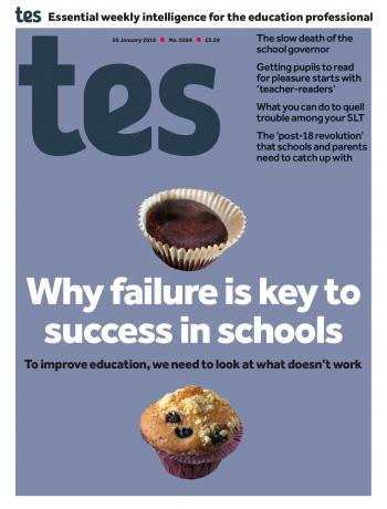 Tes - 26 January 2018 cover image