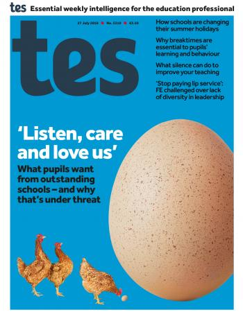 Tes - 27 July 2018 cover image