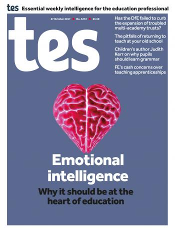 Tes – 27 October 2017 cover image