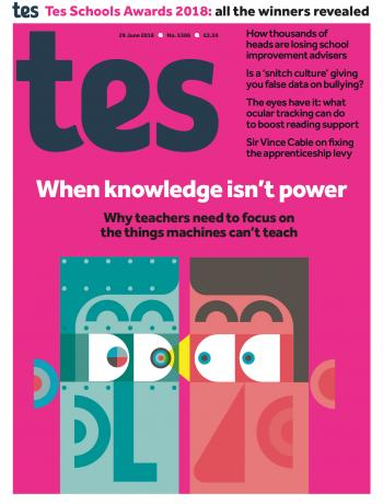 Tes - 29 June 2018 cover image