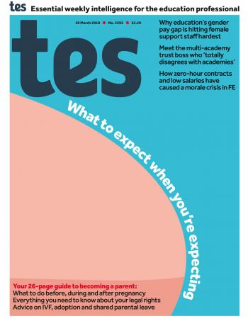Tes - 30 March 2018 cover image