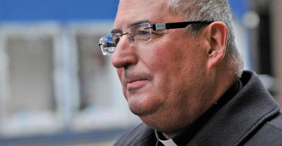 The Archbishop of Glasgow, Philip Tartaglia, addressed headteachers last week