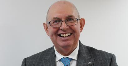 Steve Frampton has been re-elected as the president of the Association of Colleges
