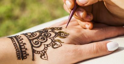 Henna tattoos not banned in exams