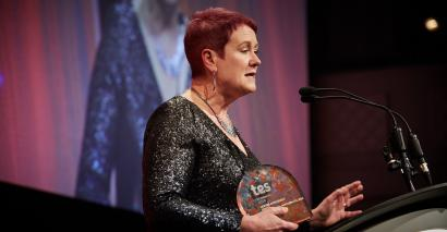 Jill Westerman Tes FE Awards Lifetime Achievement