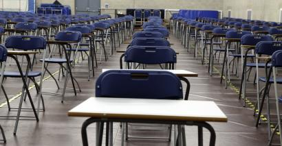 Ofqual has looked at exam systems around the world and says that England's compares favourably