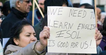 Esol, English and community language teachers need information ahead of Brexit to ensure teaching is maintained