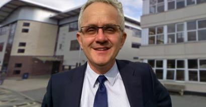 John Tomsett, founder of the Headteachers' Roundtable