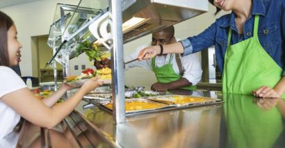 School dinners might be healthier but are the children actually eating them, asks Lisa Jarmin