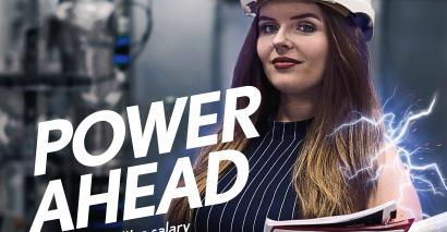 "The advertising campaign has the slogan ""Fire it Up"" and aims to challenge snobby ideas about apprenticeships"