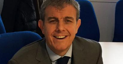 Chris Tomlinson, the new chief executive of Co-op Academies Trust