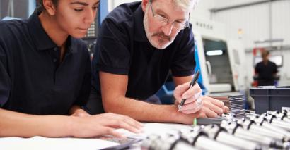 apprenticeship starts levy anne milton training FE colleges
