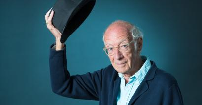 Roger McGough, the renowned poet, reflects on his school days in wartime Liverpool
