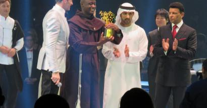 Peter Tabichi received the Varkey Foundation Global Teacher Prize 2019.