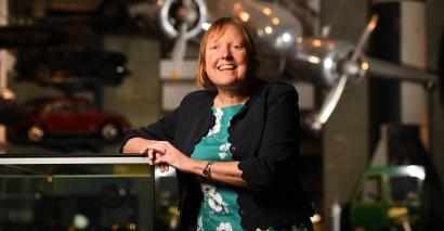 Science champion: Professor Becky Parker, director at the Institute for Research in Schools