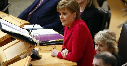 First minister grilled over subject choice