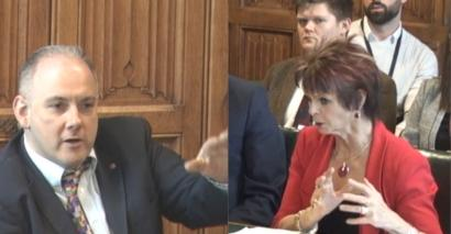 Education committee chair Robert Halfon clashed with skills minister Anne Milton over FE funding