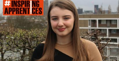 Morgan Lyons was a high achiever in school - and yet, she chose an apprenticeship