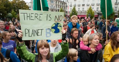 Climate strike: The Global Climate Strike movement has attracted support from school students around the world