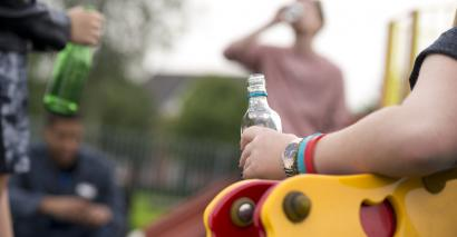 Children are fed up with seeing alcohol everywhere, research shows