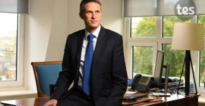 Gavin Williamson has backed an OfS review of university admissions