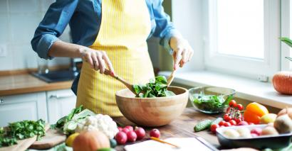 Cooking is one way for teachers to improve their mental health