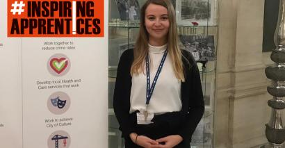 Apprentice Lucy Cooper shares her experience