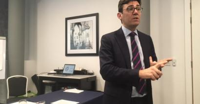 Mayor Andy Burnham has called for a new schools tsar to be created for Greater Manchester