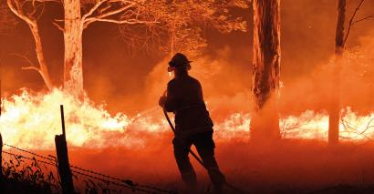 The bushfires are tragic – but students are rallying